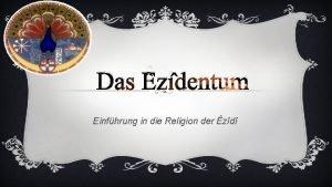 Das zdentum Einfhrung in die Religion der zd