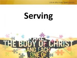 Serving Serving For by the grace given me