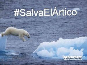 Salva Elrtico Quin es Greenpeace SOMOS INDEPENDIENTES Y
