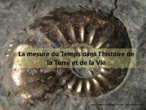 La mesure du Temps dans lhistoire de la