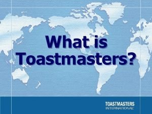 What is Toastmasters Facts Facts Figures Established in