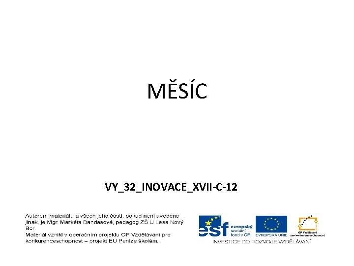 MSC VY32INOVACEXVIIC12 MSC MSC nazvn zastarale TRABANT SOUPUTNK