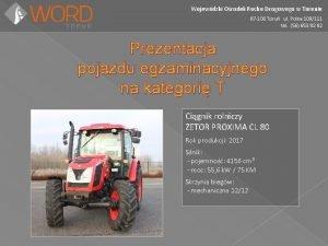 Wojewdzki Orodek Ruchu Drogowego w Toruniu 87 100