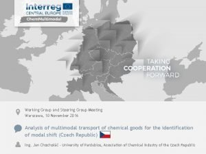 Working Group and Steering Group Meeting Warszawa 10