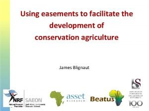 Using easements to facilitate the development of conservation