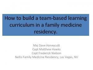 HowTogether to build a Everyone teambased learning Achieves