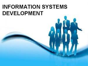 INFORMATION SYSTEMS DEVELOPMENT Capability Maturity Model CMM Yaitu