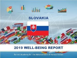 SLOVAKIA 2019 WELLBEING REPORT Barrett Academy for the