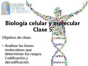 Biologa celular y molecular Clase 5 Objetivo de