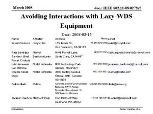 March 2008 doc IEEE 802 11 080278 r