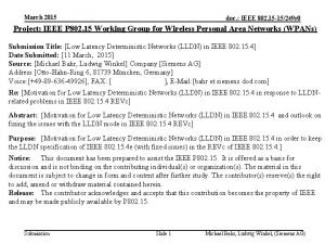 March 2015 doc IEEE 802 15 15249 r