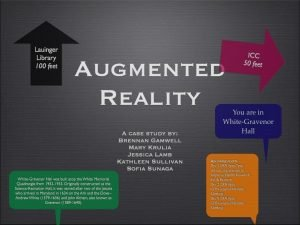 What is Augmented Reality Augmented reality is a