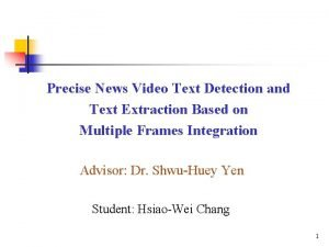 Precise News Video Text Detection and Text Extraction