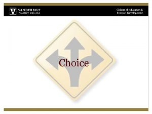 Choice Collection of Choice Strategies Mental Effort Compensatory