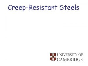 CreepResistant Steels Zphase inaccurate data Thermodynamics Cannot win