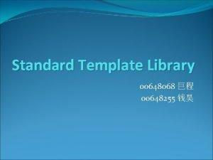 Standard Template Library 00648068 00648255 Iterator templateclass T