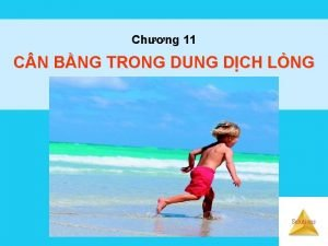 Chng 11 C N BNG TRONG DUNG DCH