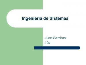 Ingenieria de Sistemas Juan Gamboa 10 a Tabla