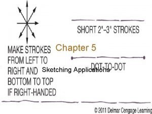Chapter 5 Sketching Applications Introduction Sketching i e