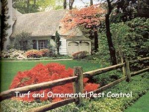 Turf and Ornamental Pest Control 1 Application Equipment