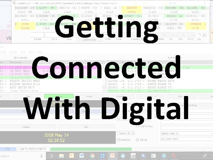 Getting Connected With Digital Getting Your PC Ready