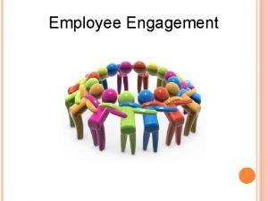 Employee Engagement 2 Trends 1 Employee Attendance 2