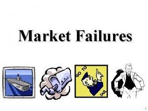 Market Failures 1 Review 1 Define Market Failure