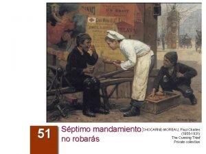 51 Charles Sptimo mandamiento CHOCARNEMOREAU Paul 1855 1931