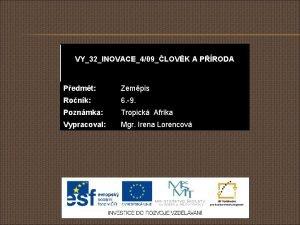 VY32INOVACE409LOVK A PRODA Pedmt Zempis Ronk 6 9