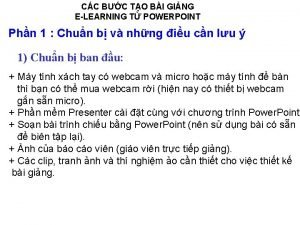 CC BC TO BI GING ELEARNING T POWERPOINT