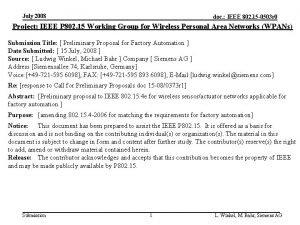 July 2008 doc IEEE 802 15 0503 r