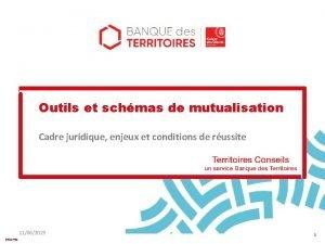 Outils et schmas de mutualisation Cadre juridique enjeux
