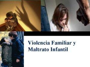 Violencia Familiar y Maltrato Infantil LOGO v VIOLENCIA