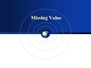 Missing Value Missing value Missing value Hsieh et