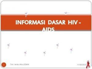 INFORMASI DASAR HIV AIDS 1 Tim Yandu Infus