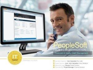 People Soft FSCM 9 2 MODERNIZATION Financials Supply