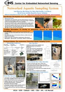 Center for Embedded Networked Sensing Networked Aquatic Sampling