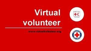 Virtual volunteer www virtualvolunteer org Virtual Volunteer www