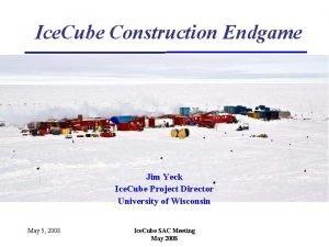 Ice Cube Construction Endgame Jim Yeck Ice Cube