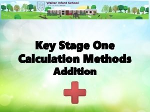 Key Stage One Calculation Methods Addition Addition Vocabulary