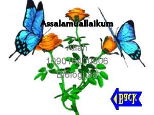 Assalamuallaikum Aliah 109016100006 Biologi 3 a HUBUNGAN TROFIk