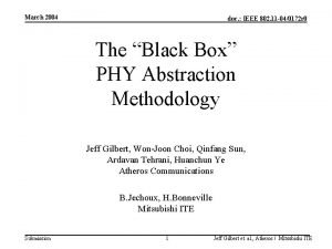 March 2004 doc IEEE 802 11 040172 r