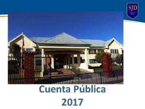 Cuenta Pblica 2017 Componentes del PEI Misin Visin