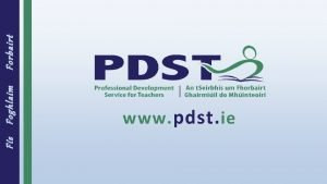 Fs Foghlaim www pdst ie Forbairt PDST Accounting