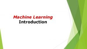 Machine Learning Introduction Menangis Berjalan Arah Bahasa Logika