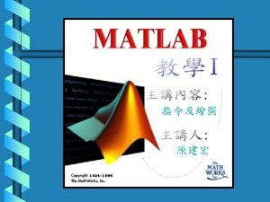 Chapter 2 MATLAB Arithmetic 2 1 Arithmetic Operations