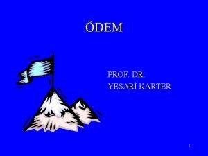 DEM PROF DR YESAR KARTER 1 Vcut arlnn