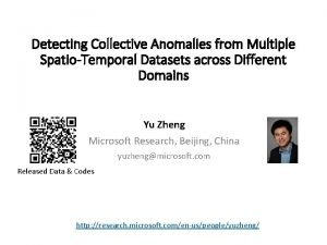 Detecting Collective Anomalies from Multiple SpatioTemporal Datasets across