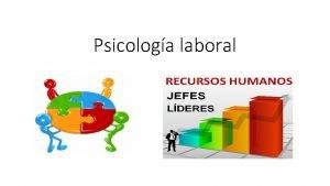 Psicologa laboral Qu es la psicologa laboral La