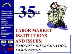 Unionism in America Collective Bargaining The Bargaining Process